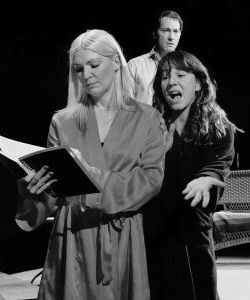 <p>Jody Durham, left, Tallis Rose and Geoffrey Pomeroy; photo Lynn Roylance</p>