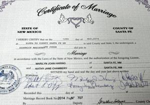 County issues marriage license to 1,000th same-sex couple