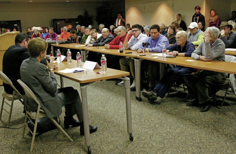 Bushee, Gonzales face off in first candidate forum
