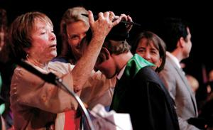 MacLaine tells NMSA grads: Live life as if it's showbiz