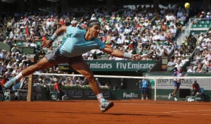 Nadal's bad back offers off-court drama at French