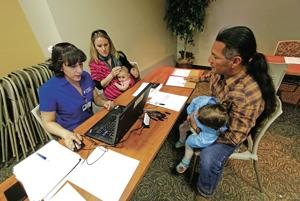 Human services hotly debated by King, Martinez