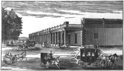 <p>Palace pictured in <em>Illustrated New Mexico</em> (5th ed., 1885), by William Gillet Ritch. Negative No. 011212. Courtesy Palace of the Governors Photo Archives (NMHM/DCA).</p>