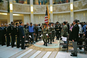 State ceremony honoring Vietnam vets is 'a welcome home'