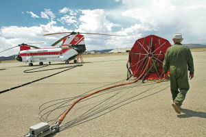 Outside contractors take to the skies to fight Northern New Mexico wildfires