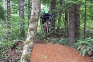 New mountain biking network in Coast Range
