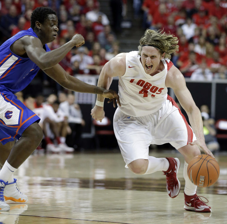 Bairstow helps No. 20 New Mexico hold off Boise St