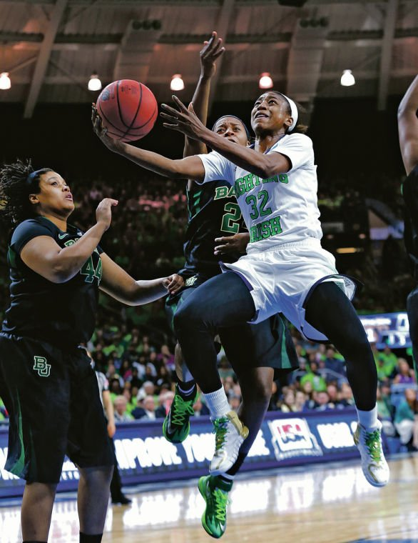 Women's NCAA: Notre Dame beats Baylor 88-69 to get to Final Four