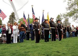 Memorial Day ceremony honors those who made sacrifices for the country