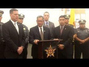 Video: Santa Fe County sheriff calls deputy shooting a 'major shock'