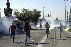 Clashes break out during Palestinian funeral
