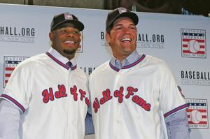 New Hall of Famers Griffey and Piazza talk about dads