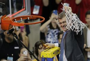 3-Peat: UConn beats Notre Dame 63-53 for 3rd straight title
