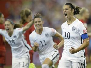U.S. heads to World Cup final with 2-0 win over Germany