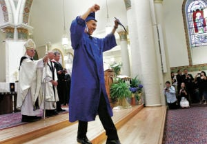 St. Michael's stresses faith, simplicity as it celebrates Class of 2014