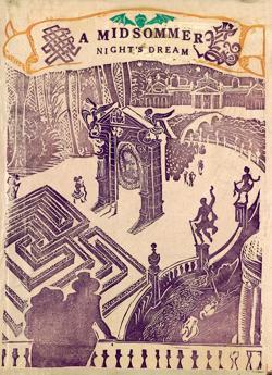 <p>Dorothy Stewart: <em>A Midsommer Night's Dream,</em> 1953, block print; courtesy New Mexico Museum of Art</p>