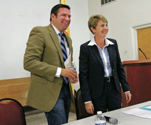 Gonzales, Bushee on message at second mayoral forum