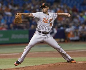 American League: Orioles hold on after 4-run 1st, beat Rays