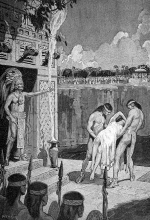 The Chichén Itzá sacrifice