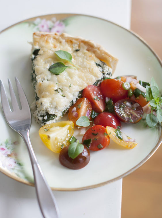 Mother's Day tart that's part quiche, part lasagna