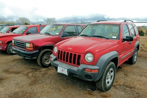 City to auction 150 vehicles, most from seized from DWI offenders
