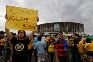 Brazil protests fizzled, but roots of anger remain