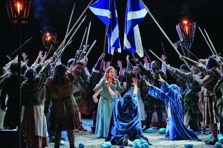 Opera reviews: La donna del lago