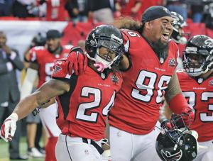 Unbeaten Falcons have early chance to bury rival Saints