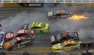 Brad Keselowski wins crazy crash-fest at Talladega
