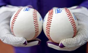 Flat-seam ball brings upswing in offense in college openers