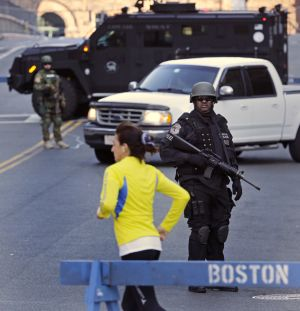 Terror at Boston Marathon