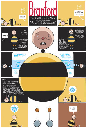 Chris Ware: Branford Bee booklet, from Building Stories