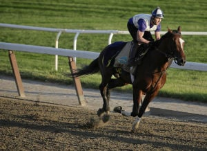 California Chrome chases history in Belmont Stakes