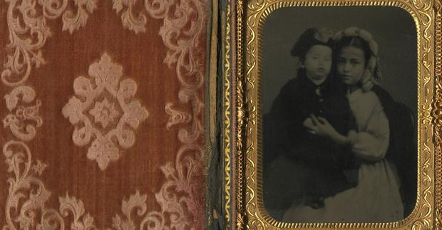 Rare cased portraits at New Mexico History Museum
