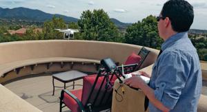 Santa Fe Realtor's drone takes marketing to new heights