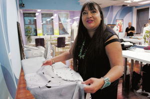 Indian Market: Taos designer Michaels says confidence renewed after 'Runway' exposure