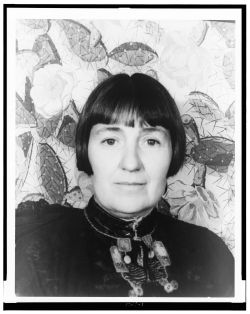 <p>Mabel Dodge Luhan, circa 1934, photo by Carl Van Vechten</p>