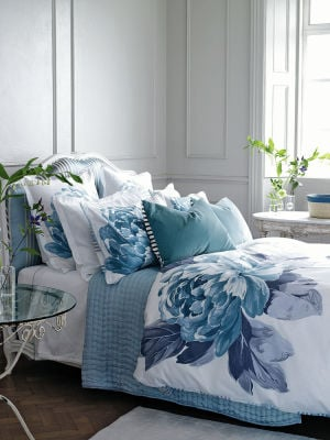 Bring spring indoors with floral furniture and accessories