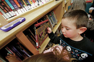 Pecos boy helps put preschool on state bookmobile's route