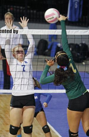 Class 4A volleyball: West Las Vegas sweeps St. Michael's to advance