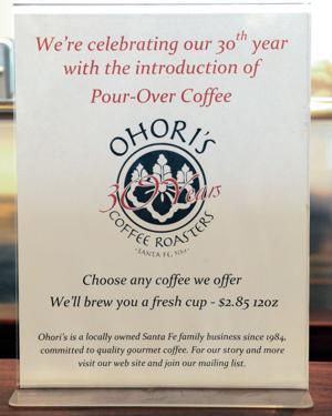 Ohori's Coffee, Santa Fe's original roaster, turns 30