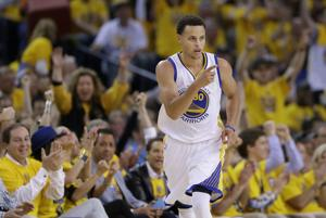 Warriors' Stephen Curry voted NBA's MVP over Harden, James