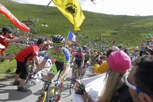 Pyrenees please Nibali, Rogers in Tour Stage 16