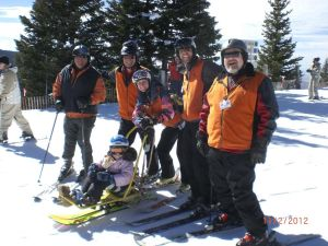 Youth instructors help those with disabilities hit the slopes via the Adaptive Ski Program