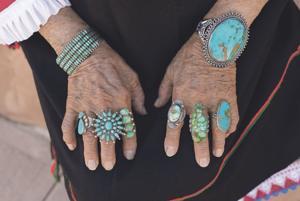 Southwest bracelets and rings