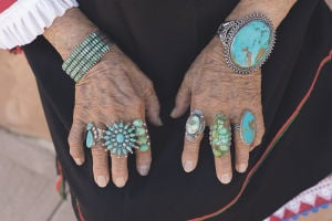 Southwest bracelets and rings