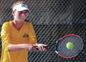 Prep tennis: Robertson's Fulgenzi wins Los Alamos Invite