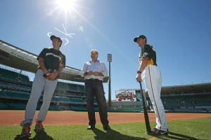 A century later, baseball's back in Australia