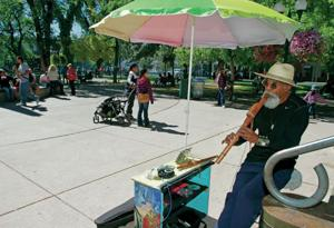 Councilors shelve posposed busker ban on Plaza