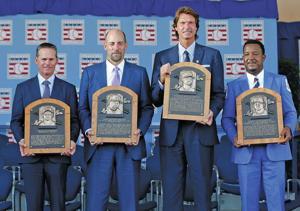Johnson, Martinez, Smoltz, Biggio enter Hall of Fame